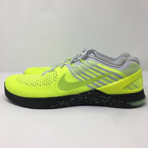official photos 07128 7a6f4 NIKE METCON DSX FLYKNIT VOLT GHOST GREEN BLACK. NWT. Nike.  75  125. Size